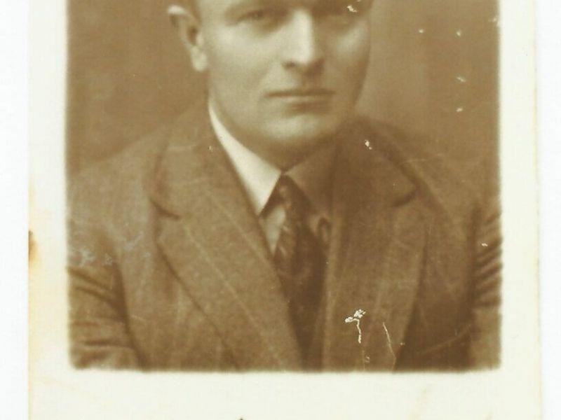 Na zdjęciu archiwalnym dr n. med. Witold Szyszkowski - zdjęcie portretowe