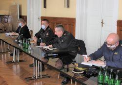 Posiedzenie Gminnego Zespołu Zarządzania Kryzysowego
